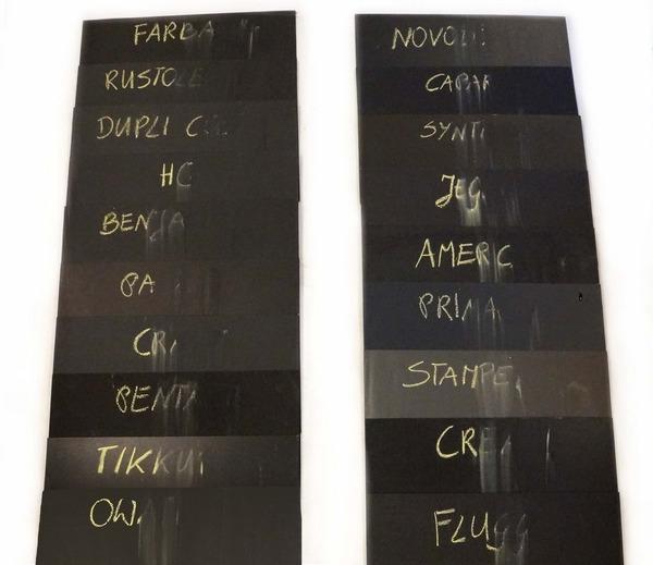 Test Farb Tablicowych Kredowych Ii Edycja 2016
